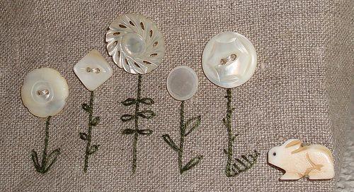 Sweet embroidery idea
