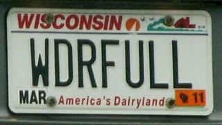 License plate fun!!