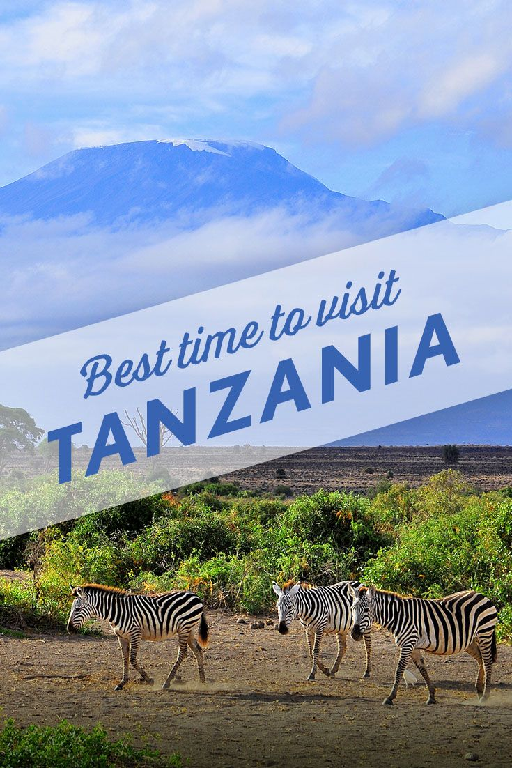 A month-by-month guide to visiting Tanzania