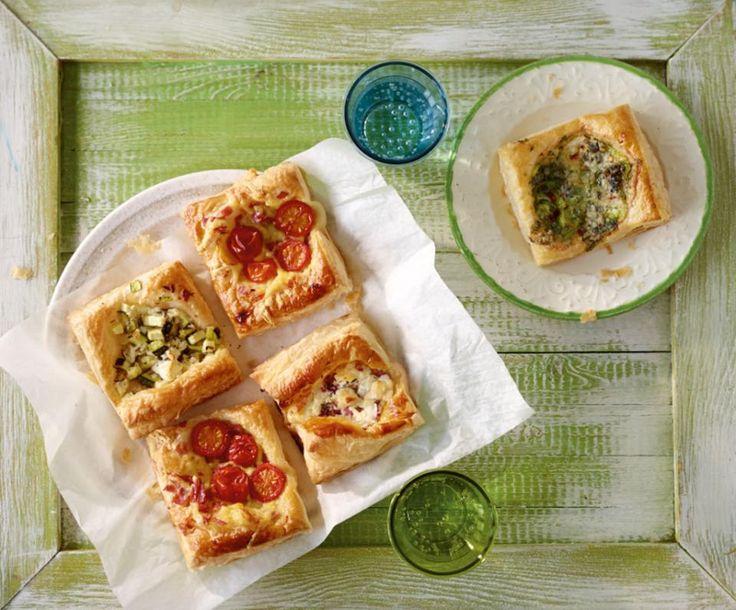 Blätterteigteilchen mit Zucchini - [ESSEN UND TRINKEN]