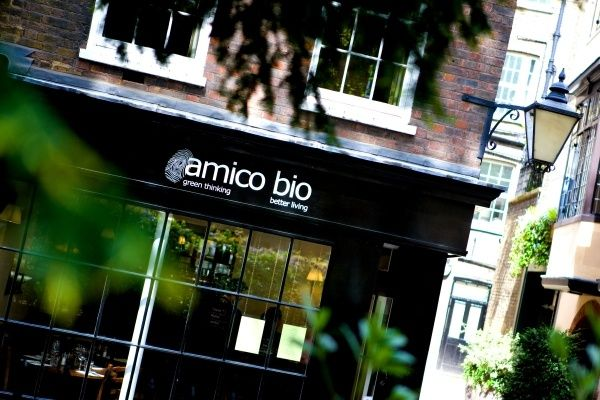Amico Bio - Vegetarian Organic Italian Restaurant - London.