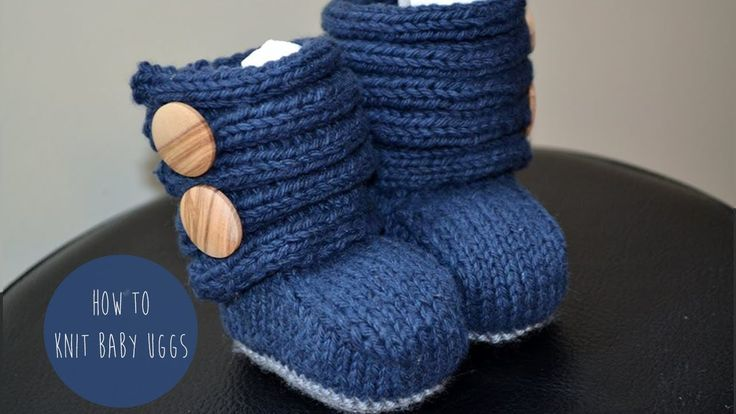 Knit Baby Girl UGGs(booties)