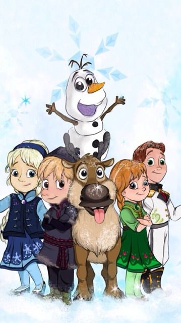 Baby Frozen Characters.... I have just been pinning baby disney characters for some reason?