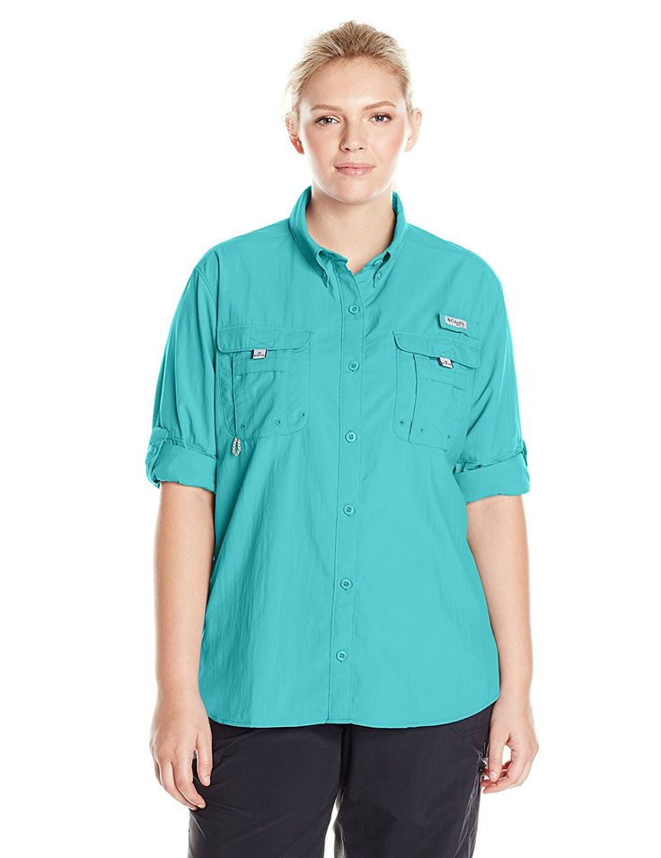 Columbia Sportswear Women's Plus-Size Bahama Long Sleeve -- Don't get left behind, see this great  product : Women clothing