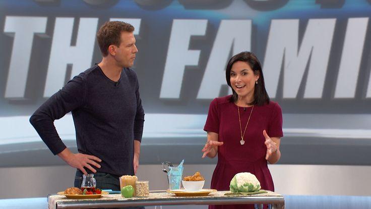 Lisa Leake's Applesauce Oatmeal Pancakes and Cauliflower Nuggets Recipes