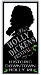 The oldest, longest running Dickens Festival in the United States! 2017 - marks the 44th year of the Holly Dickens Festival. Continuing momentum after remarkably strong 2014 revival season and spectacular 2015 & 2016, we're well on our way and continue as the official oldest, longest running Dickens themed event in the United States! Set in Historic downtown Holly, Michigan USA, the annual festival spans three weekends between Thanksgiving and Christmas.