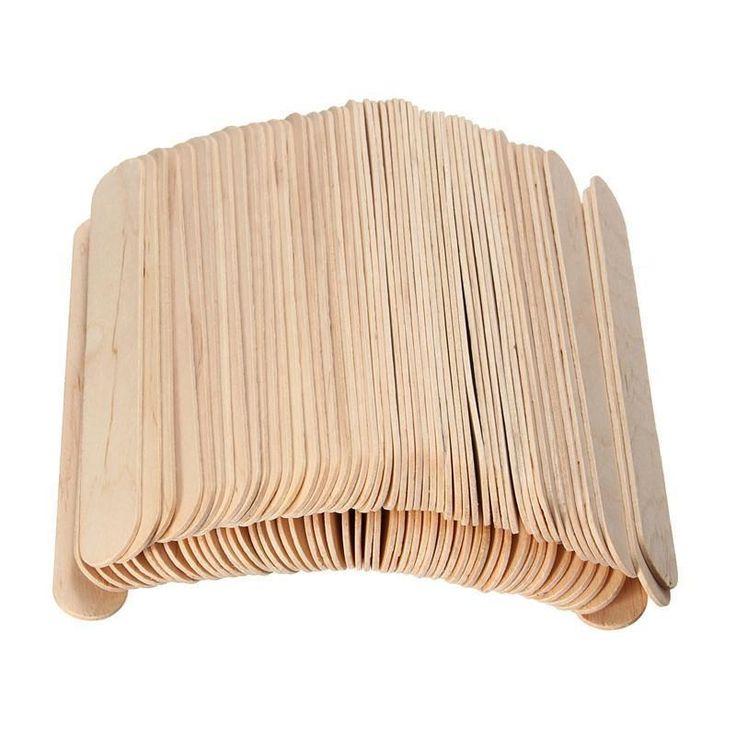 Painless Wax Spatula - 100 Sticks