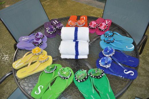 cute idea, make flip flops for all girls