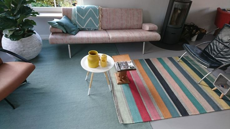 Colourful rugs Robijn and Sofi. A beautiful mix of colours