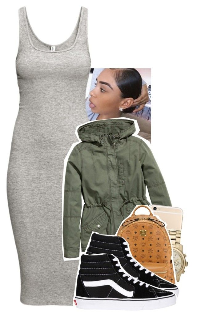 """""""Feels good out ✨."""" by tonibalogni ❤ liked on Polyvore featuring moda, H&M, Michael Kors, MCM, Vans, women's clothing, women, female, woman e misses"""