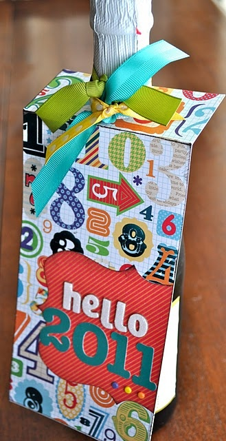 New Years Hostess Gift | Crafty gifts, Holiday crafts ...