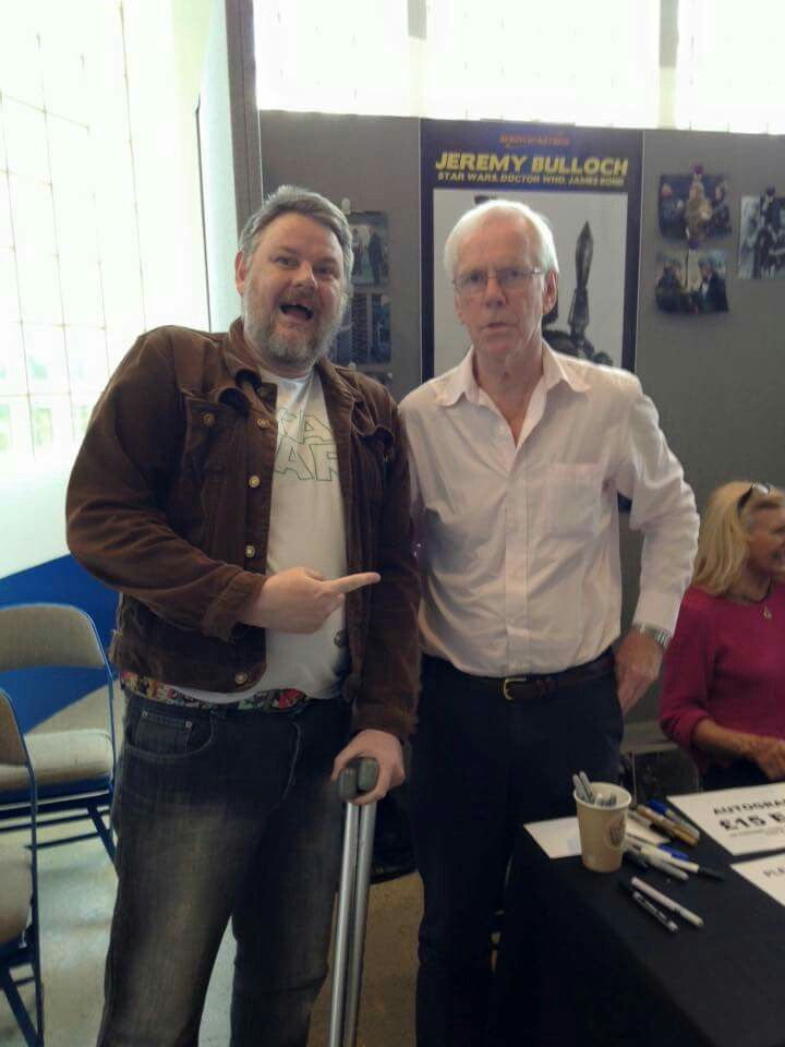 Finally got a good picture with Jeremy Bulloch