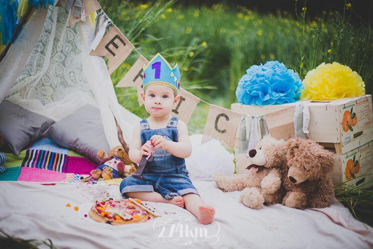 Sesi n de fotos de beb el cumplea os de eric sesi n de - Ideas fotos ninos ...