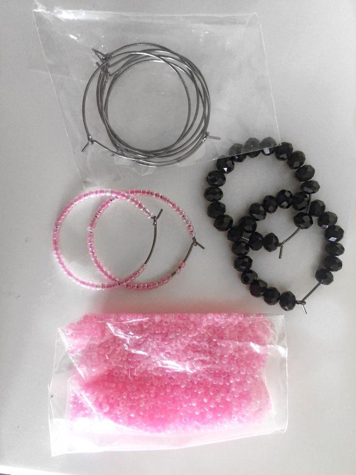 #diy #earring #hoopearrings #pearl #pearlhoopearrings #beads #beadseaarings