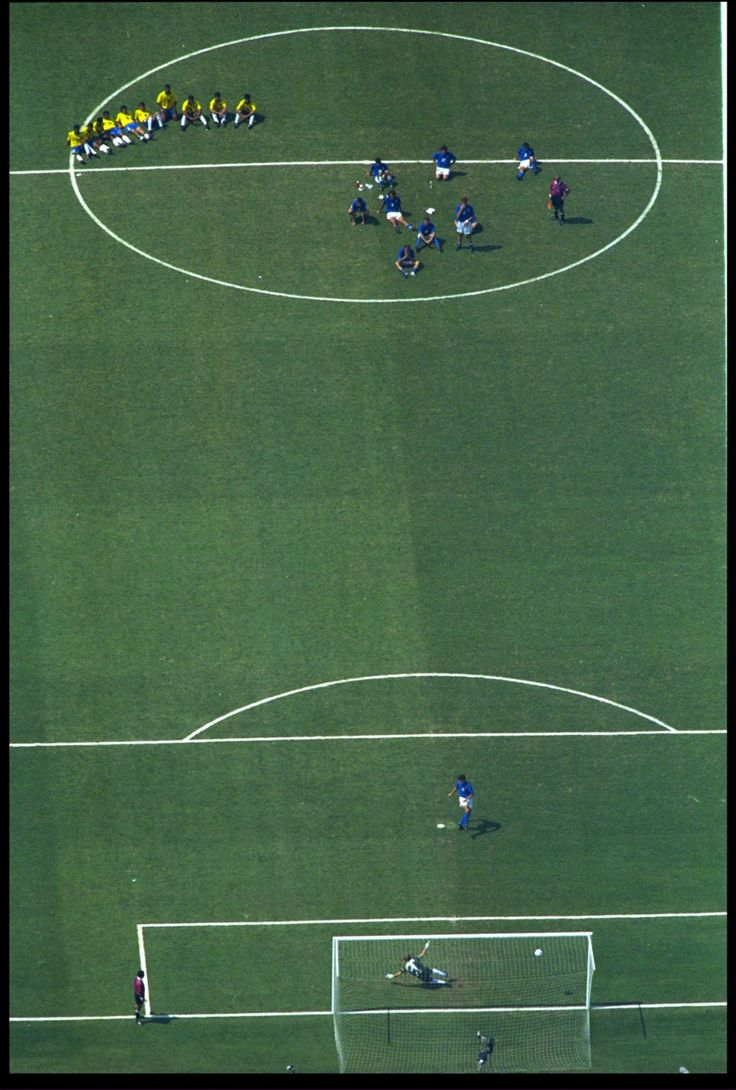 Brasil vs. Itália. World Cup. 1994.