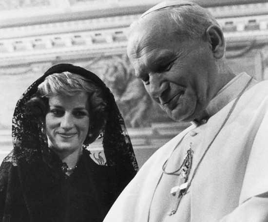 Resultado de imagem para princess diana vatican