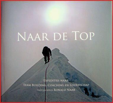 Boek van Ronald Naar Naar de top van Ronald Naar