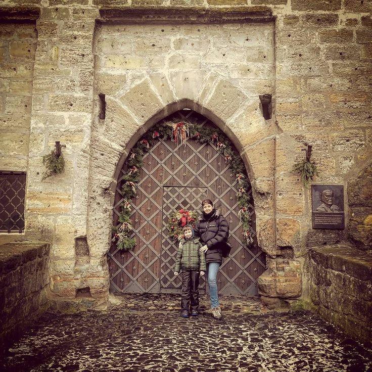 Vánoční vstup do hradu #hradkost