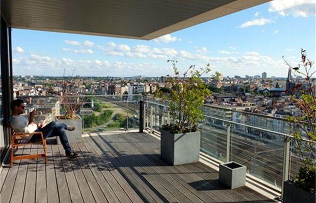 Skybar Antwerpen, opening 1 juli: deskundige drankjes & spetterende skyline