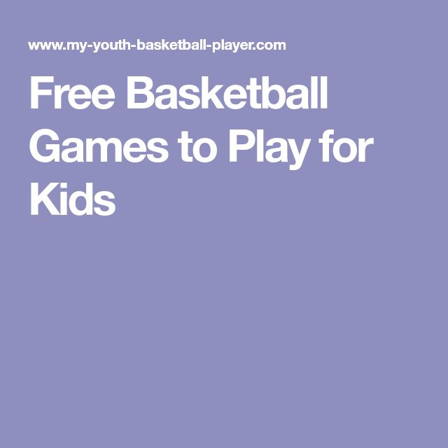 Free Basketball Games to Play for Kids