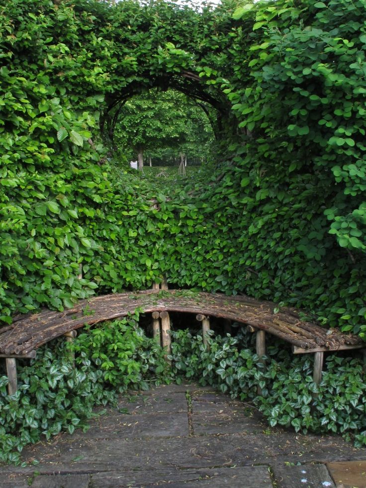 Fill your garden with nooks and crannies to sit and contemplate the beauty of nature.