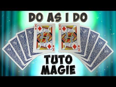 """"""" DO AS I DO TUTORIAL """" TUTO MAGIE - CARD TRICK REVEALED -CARD TRICK EXPLAINED -MAGIC TRICK REVEALED - YouTube"""