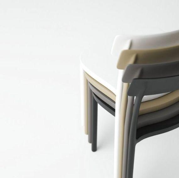 Chaise Design Pour Restaurant Empilable