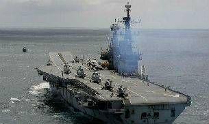 World's oldest aircraft carrier INS Viraat