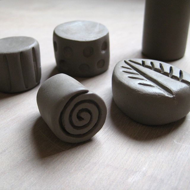 Pottery Stamps | Flickr - Photo Sharing!