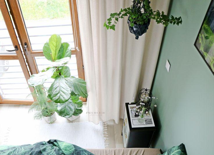 aranżacje wnętrz, baba ma dom, design, DIY, do it yourself, featured, inspiracje, metamorfozy, projekt, rośliny, sypialnia, wnętrza, zrób to sam, babamadom, ekologia, łóżko,