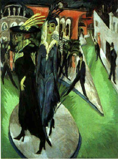 Ernst Ludwig Kirchner Potsdamer Platz 1914
