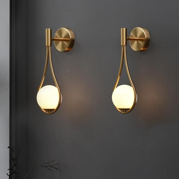 Nordic Personality Creative Metal Wall Lamp Modern Minimalist Model Wall Lamps Bedroom Metal Wall Lamp Wall Lamp
