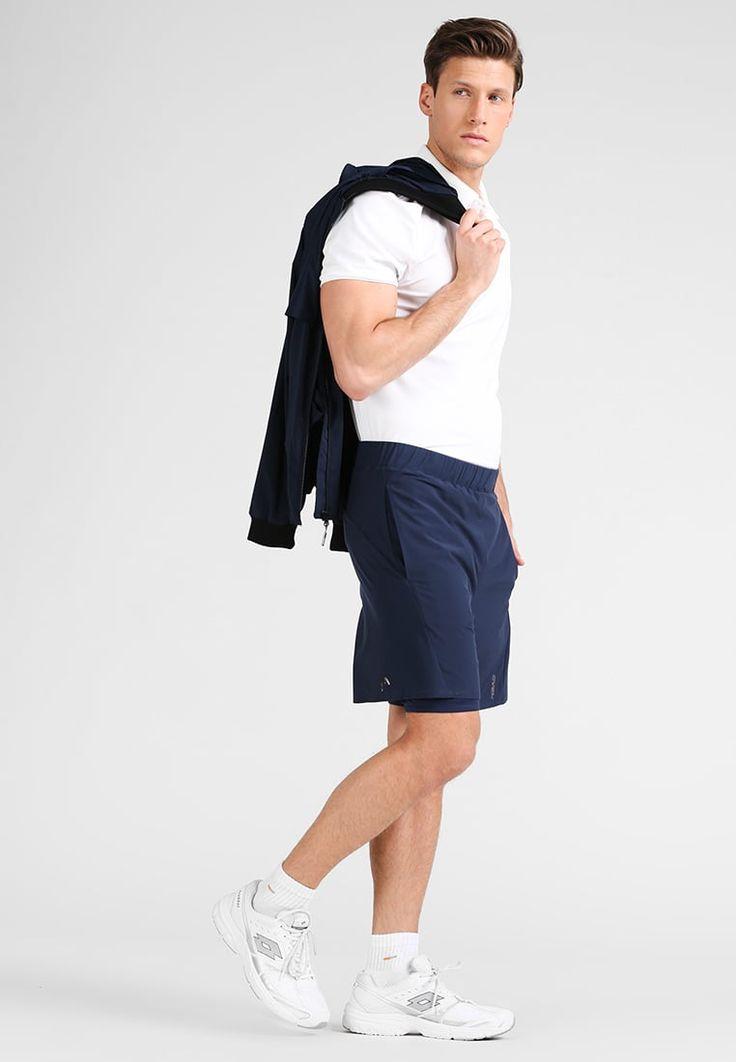 ¡Consigue este tipo de pantalón corto deportivo de HEAD ahora! Haz clic para ver los detalles. Envíos gratis a toda España. Head Pantalón corto de deporte blue: Head Pantalón corto de deporte blue Ofertas   | Material exterior: 86% poliéster, 14% elastano | Ofertas ¡Haz tu pedido   y disfruta de gastos de enví-o gratuitos! (pantalón corto deportivo, sports, sport, gym, pantalón corto de deporte, workout, deporte, pantalones cortos de denim, pantalón corto de compresión, kurze spo...