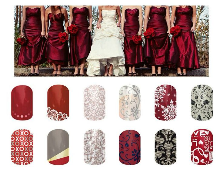 Winter Wedding with Jamberry Nails - www.kera.jamberrynails.net