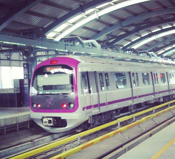 Namma Metro (Indira Nagar)