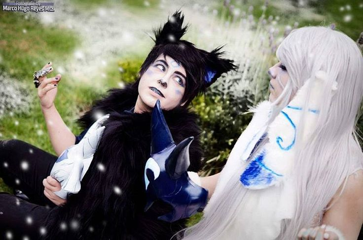"""Abrazar la vida significa aceptar la muerte. No temas cuando se aleje tu vida. Todas las chispas encienden nuevas llamas...""  ❤ #lolcosplay #kindred #kindreds #kindredcosplay #leagueoflegends #leagueoflegendscosplay #kindredwolfcosplay #wolfandlamb #cosplay #bloudraak #aikoduchannes"