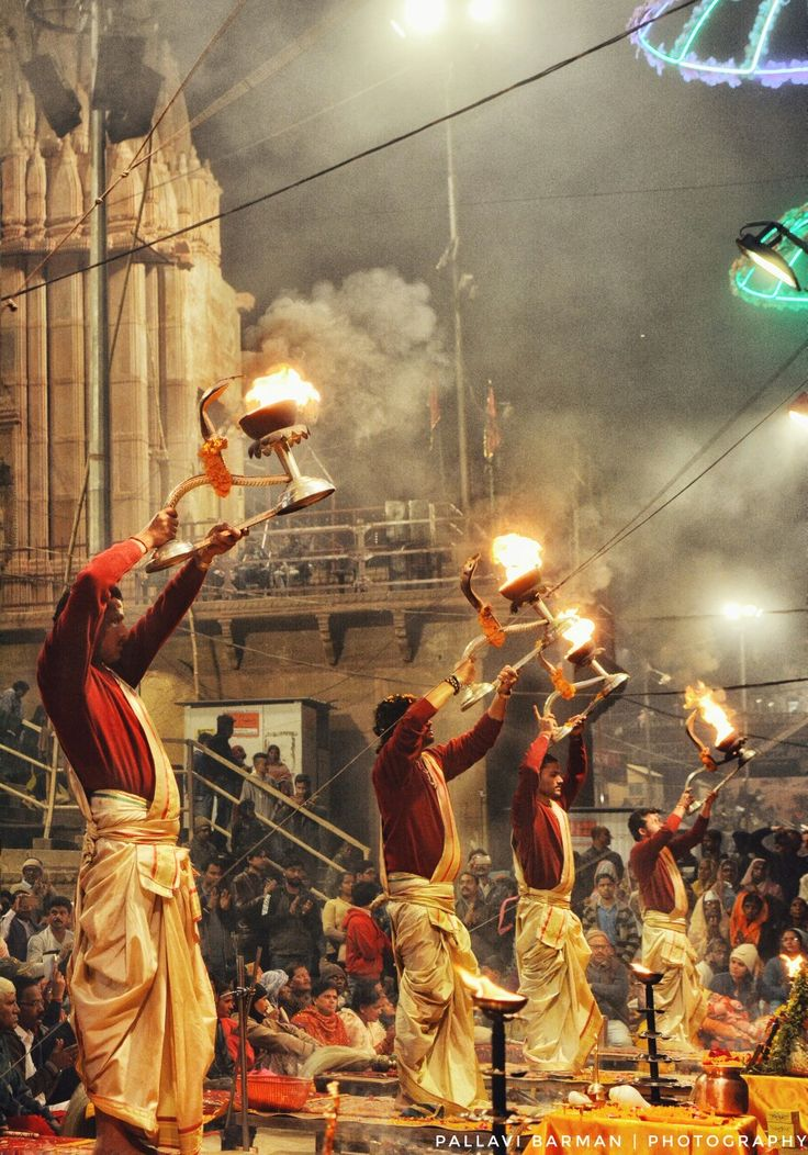 Ganga Aarti, Varanasi Banaras ColoursOfIndia Spiritual