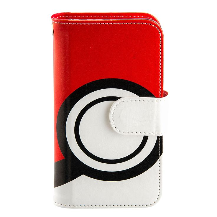 iPhone 6/6S/7 Folio Case - eKids - Pokemon, Red