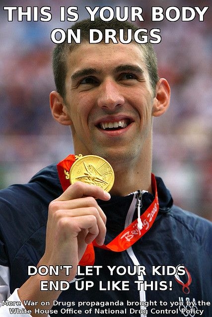 """Things To Look Out For In 2012: Michael Phelps & Weed Not really """"drugs"""" but pot! Lmao"""