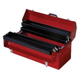 International Tool Storage 21.25-In Red Steel Lockable Tool Box Hbc-21