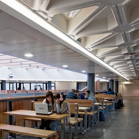 University of Warwick Student Union  by MJP Architects, this student union almost makes me want to be a student again...