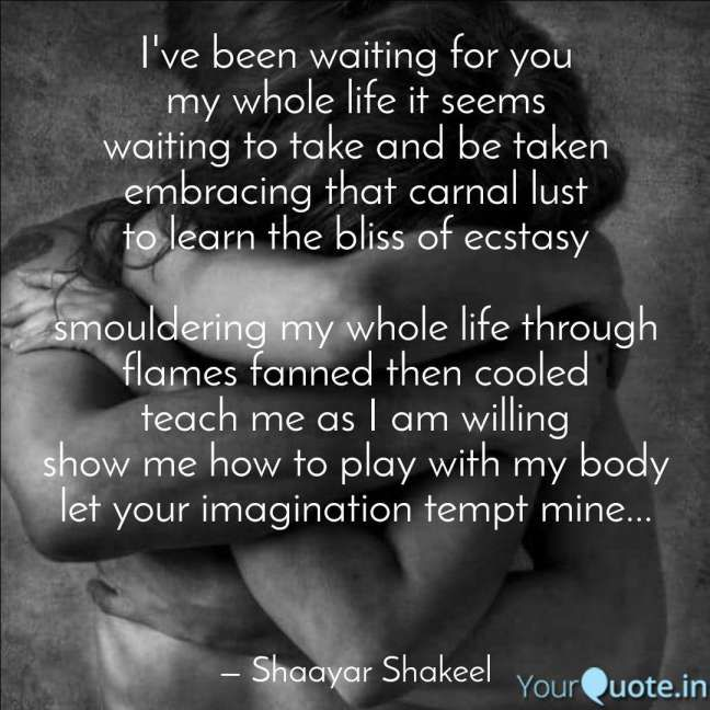 12 I Ve Waited My Whole Life For You Quotes Life Quote In 2020