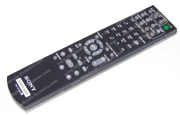 148077411 Sony Remote Control