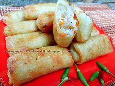 Resep Lumpia Goreng (kroket/risol) Isi Bihun | Resep Masakan Indonesia (Indonesian Food Recipe)