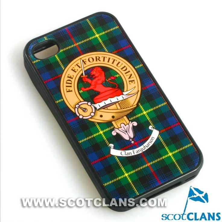 Farquharson Clan Crest iPhone Case