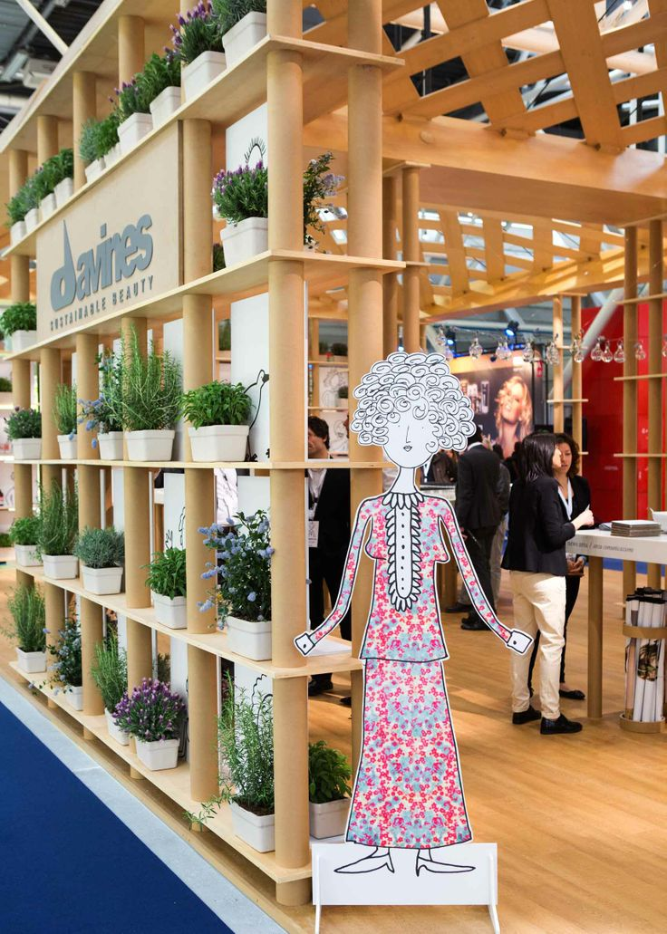 You are welcome at the Davines' stand at Cosmoprof Bologna 2014!