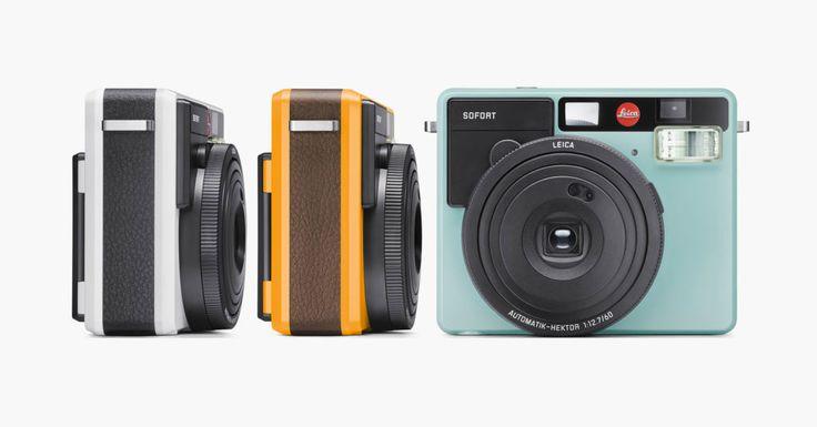 Camerele foto instant au revenit la moda in ultimii ani. Pentru a prinde acest trend, Leica a decis sa lanseze Sofort. Este prima camera de acest gen de la Leica si are un design placut. #Leica #Sofort #camera #foto #instant