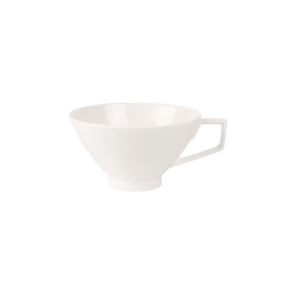 Villeroy & Boch La Classica Nuova Tea Cup 0.24l ($30) ❤ liked on Polyvore featuring home, kitchen & dining, serveware, 6836-25593, cream colored dinner plates, dinner plates, ivory plates, contemporary dishes and cream dinner plates
