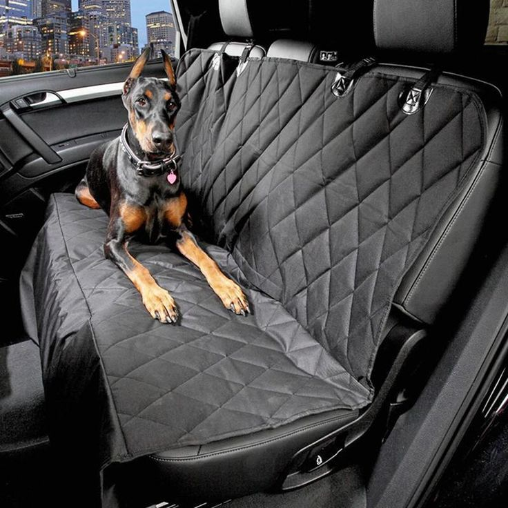 Oxford Pet Car Seat Covers Waterproof Back Bench Seat Cover for Pet Dogs