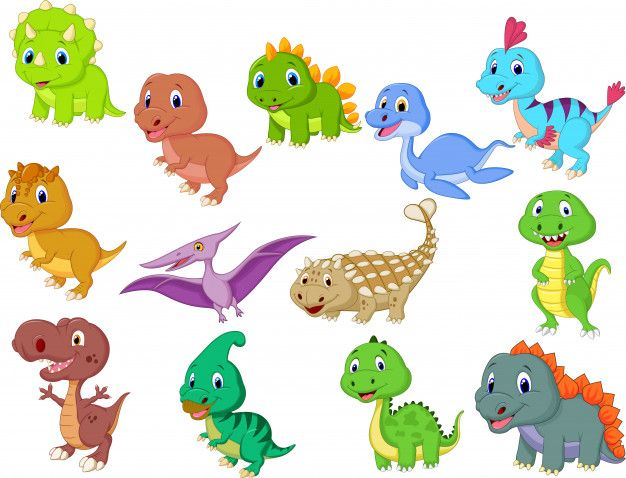 Cute Baby Dinosaurs Collection Premium Vector Baby Dinosaurs Dinosaur Kids Room Dinosaur Images He cut the dinosaur silhouette from green construction. pinterest